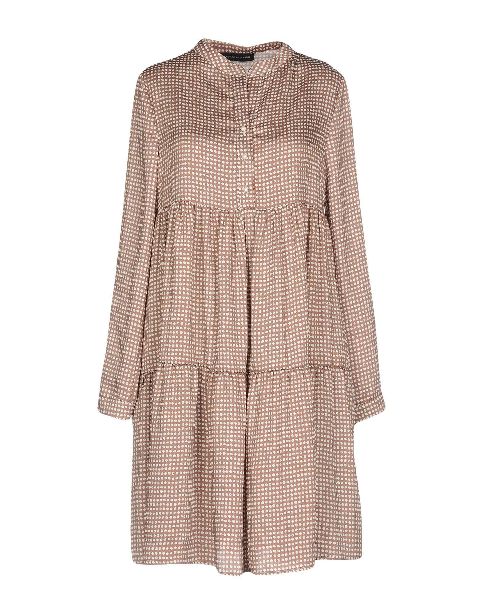 цена ANDREA MORANDO Короткое платье онлайн в 2017 году