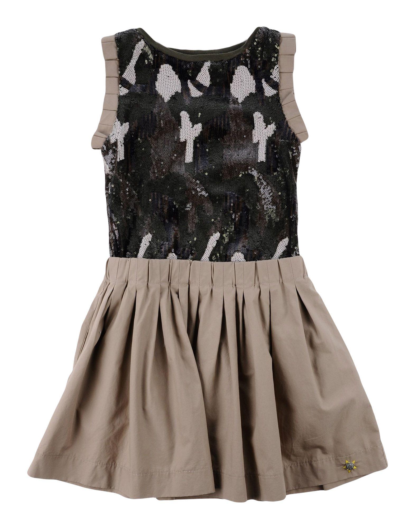DIESEL Mädchen 3-8 jahre Kleid Farbe Beige Größe 4