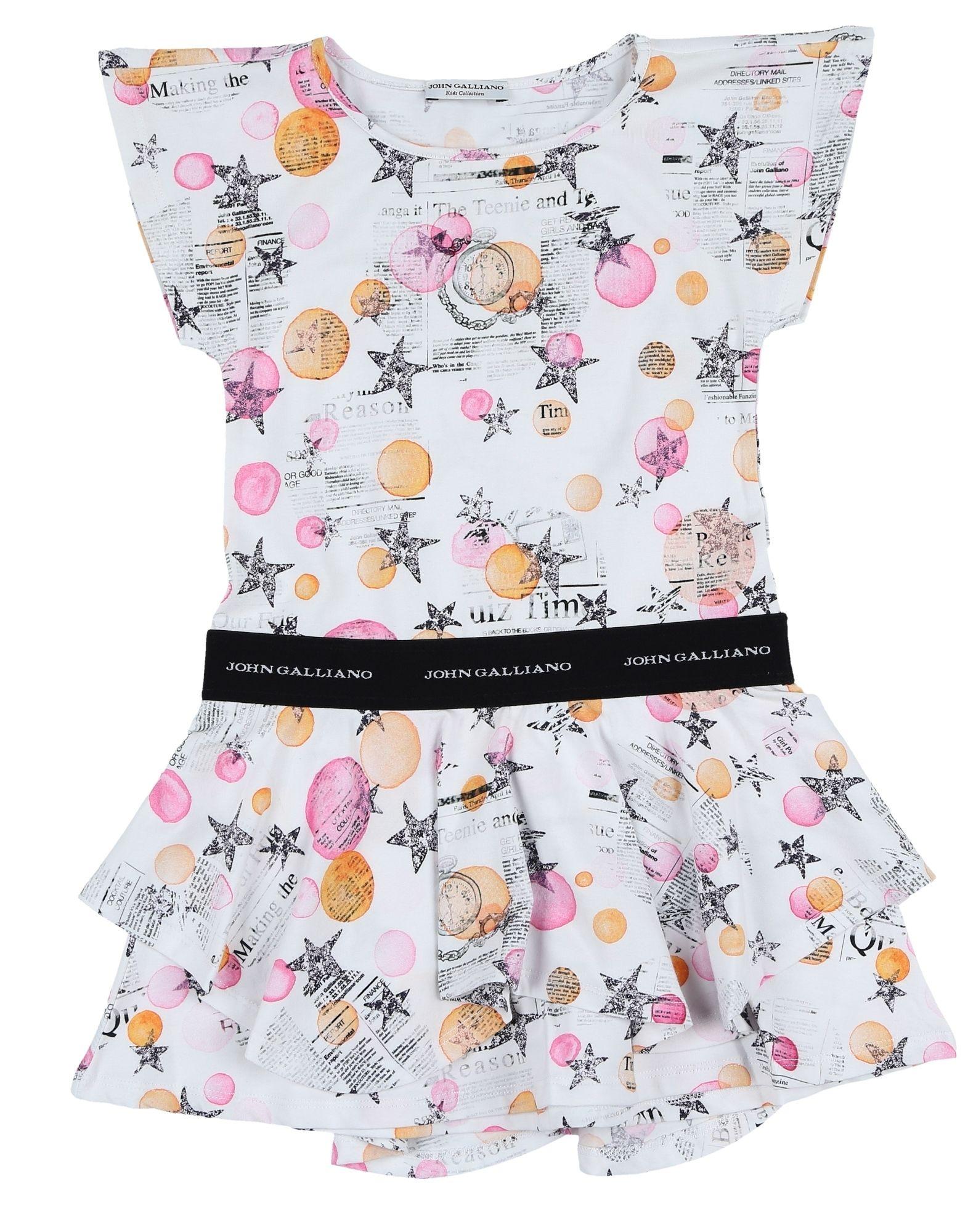 цена JOHN GALLIANO KIDS Платье онлайн в 2017 году