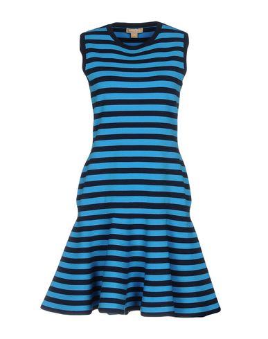 Фото - Женское короткое платье  лазурного цвета