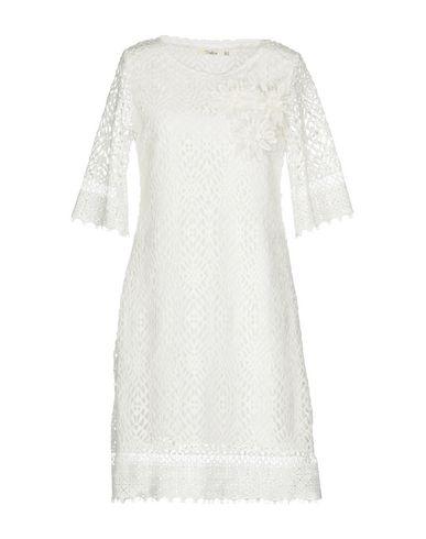 Фото - Женское короткое платье DARLING London белого цвета