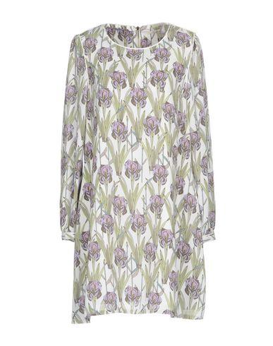 Фото - Женское короткое платье DARLING London фиолетового цвета