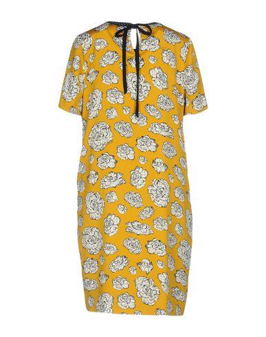 Фото 2 - Женское короткое платье ESSENTIEL ANTWERP цвет охра