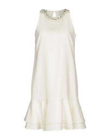Фото - Женское короткое платье  цвет слоновая кость