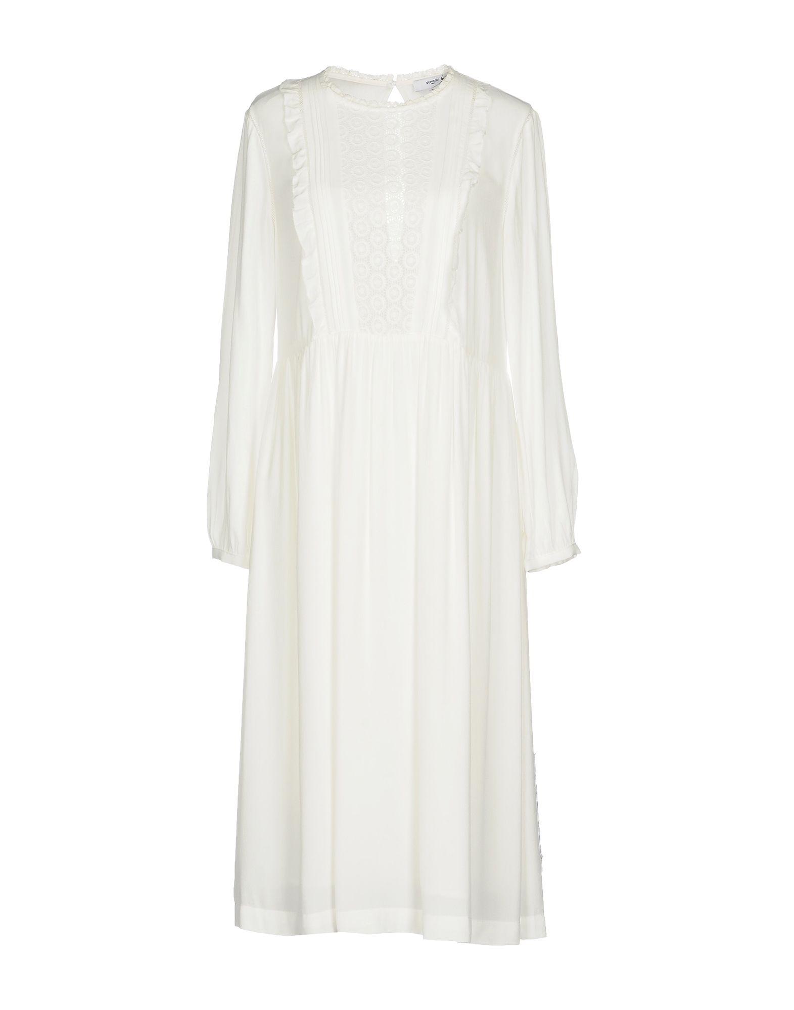 SUNCOO Платье длиной 3/4 lisa corti платье длиной 3 4