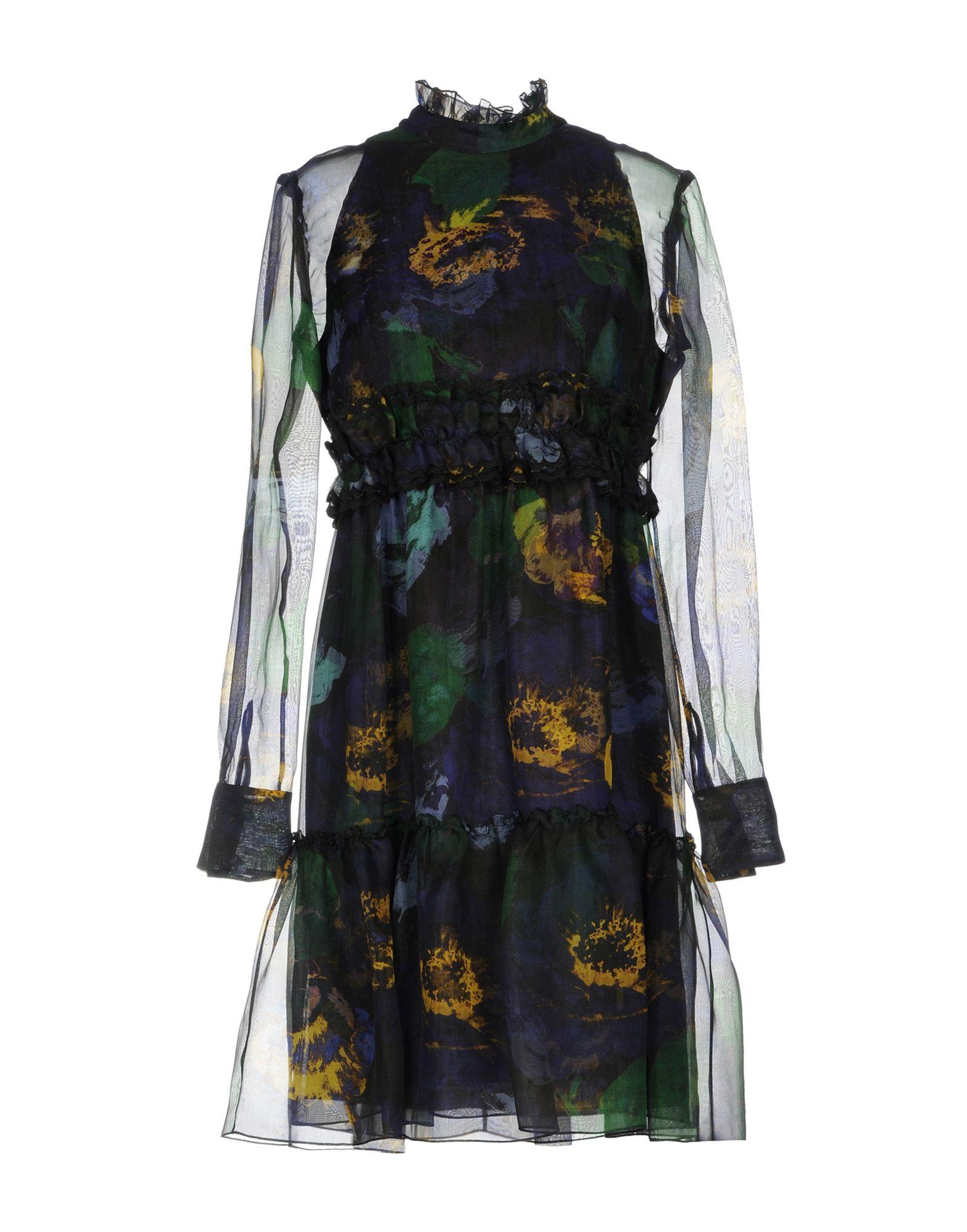 ERDEM Платье до колена erdem шелковое платье brennon