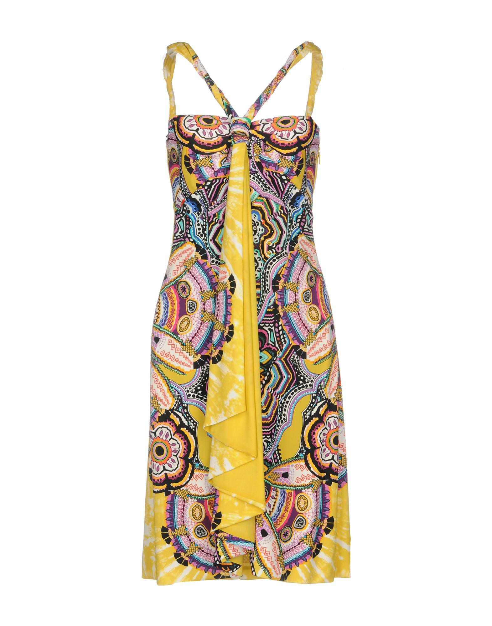 купить ROBERTO CAVALLI Короткое платье по цене 37250 рублей