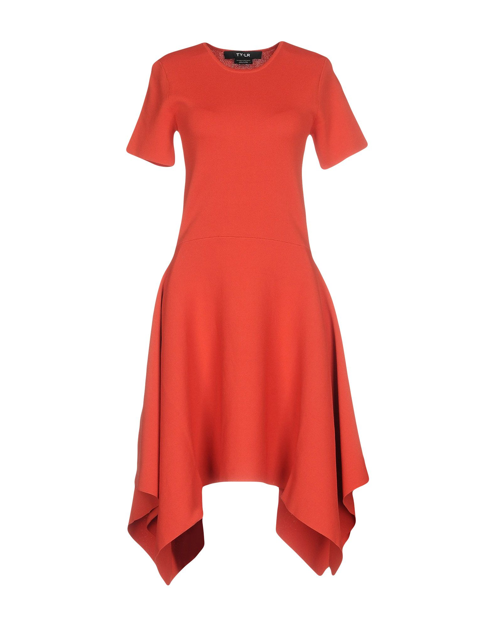 TY-LR Evening Dress in Red