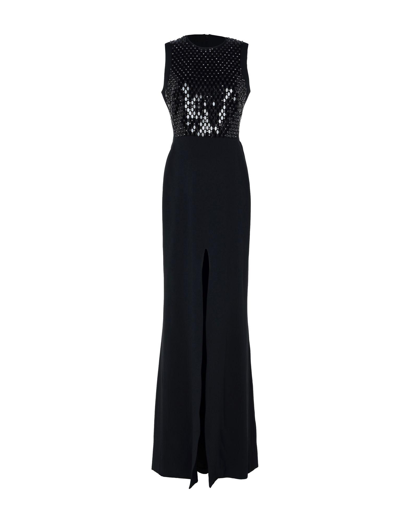 DAVID KOMA Длинное платье платье короткое спереди длинное сзади летнее