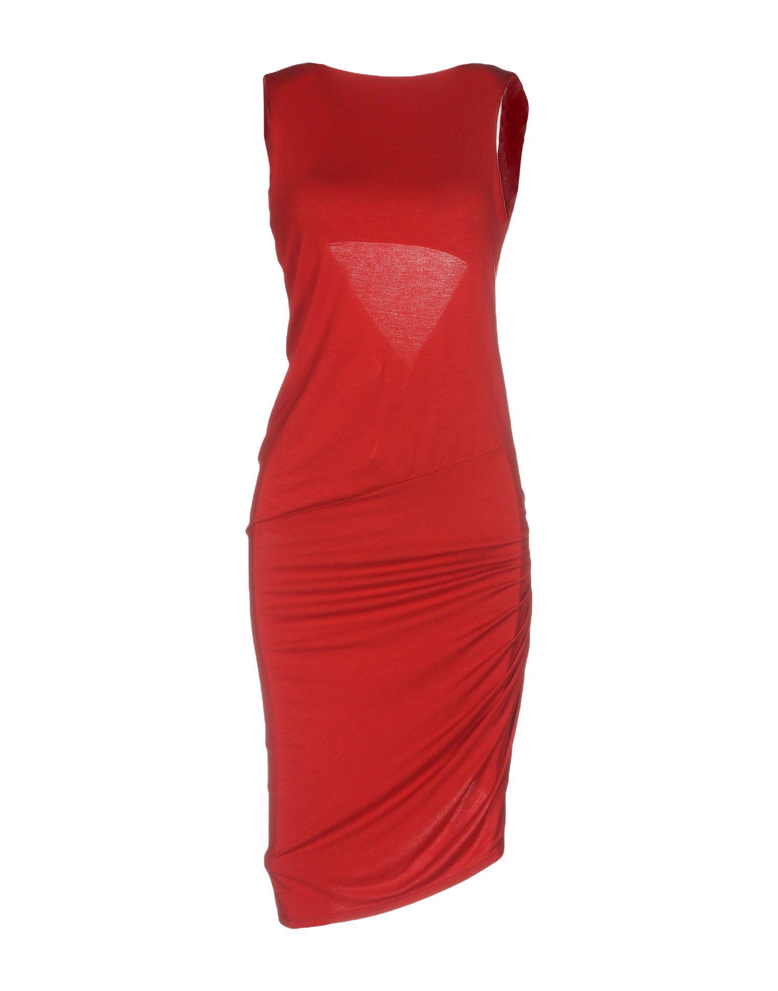 ALEXANDRE VAUTHIER Платье до колена melissa alexandre herchcovitch вьетнамки