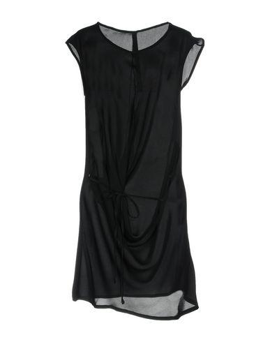 Купить Женское короткое платье POÈME BOHÈMIEN черного цвета