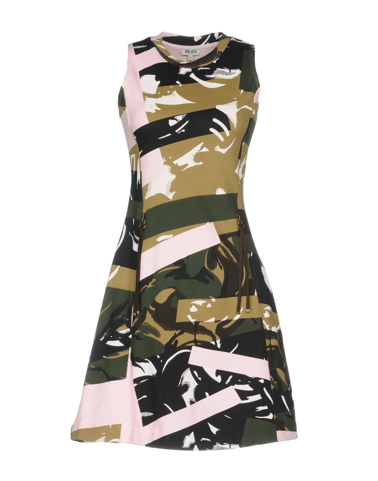 где купить KENZO Короткое платье по лучшей цене