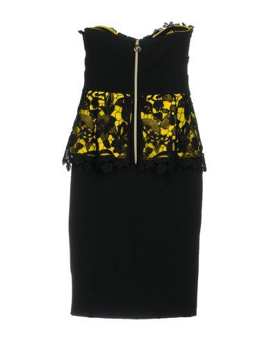 Фото 2 - Женское короткое платье HH COUTURE желтого цвета