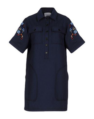 Короткое платье размер 44, 46 цвет синий