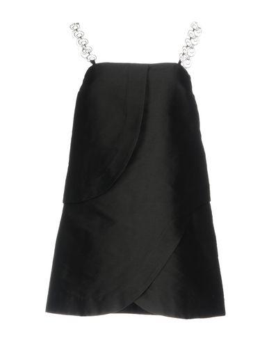 Фото - Женское короткое платье ISA ARFEN черного цвета
