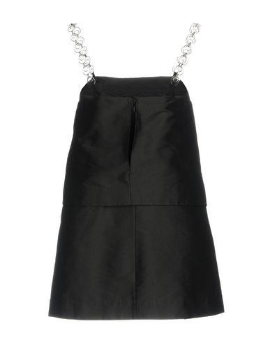 Фото 2 - Женское короткое платье ISA ARFEN черного цвета