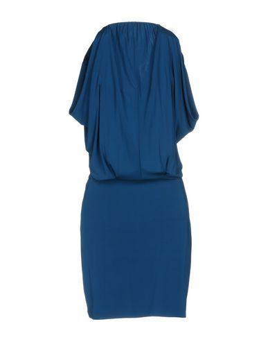 Фото 2 - Женское короткое платье  цвет цвет морской волны