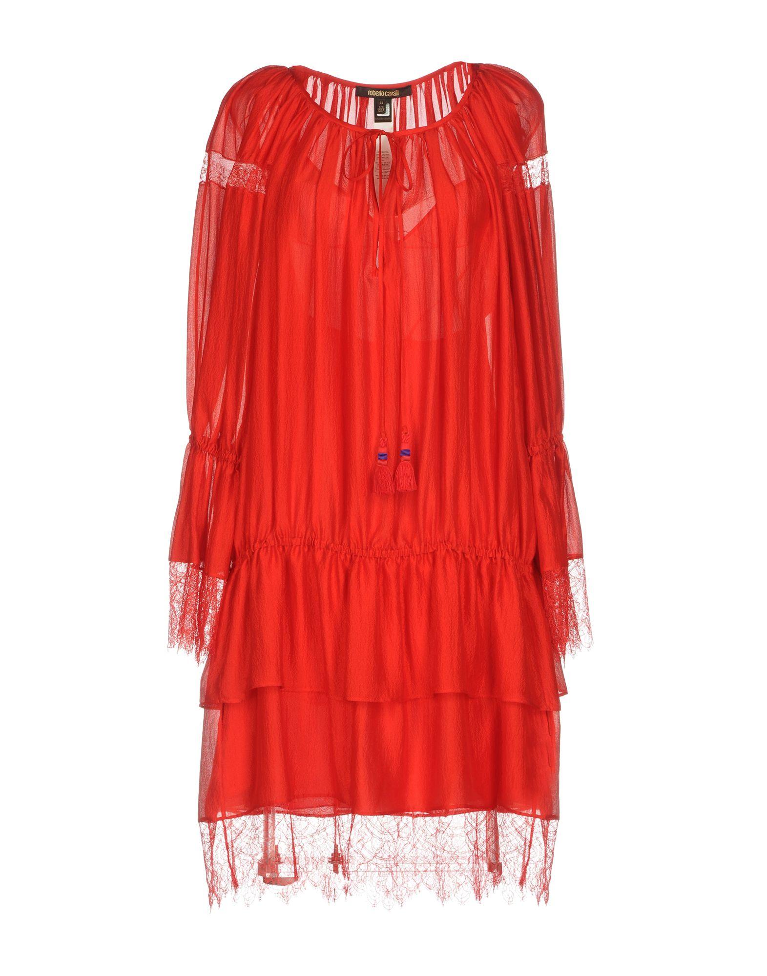 лучшая цена ROBERTO CAVALLI Платье до колена