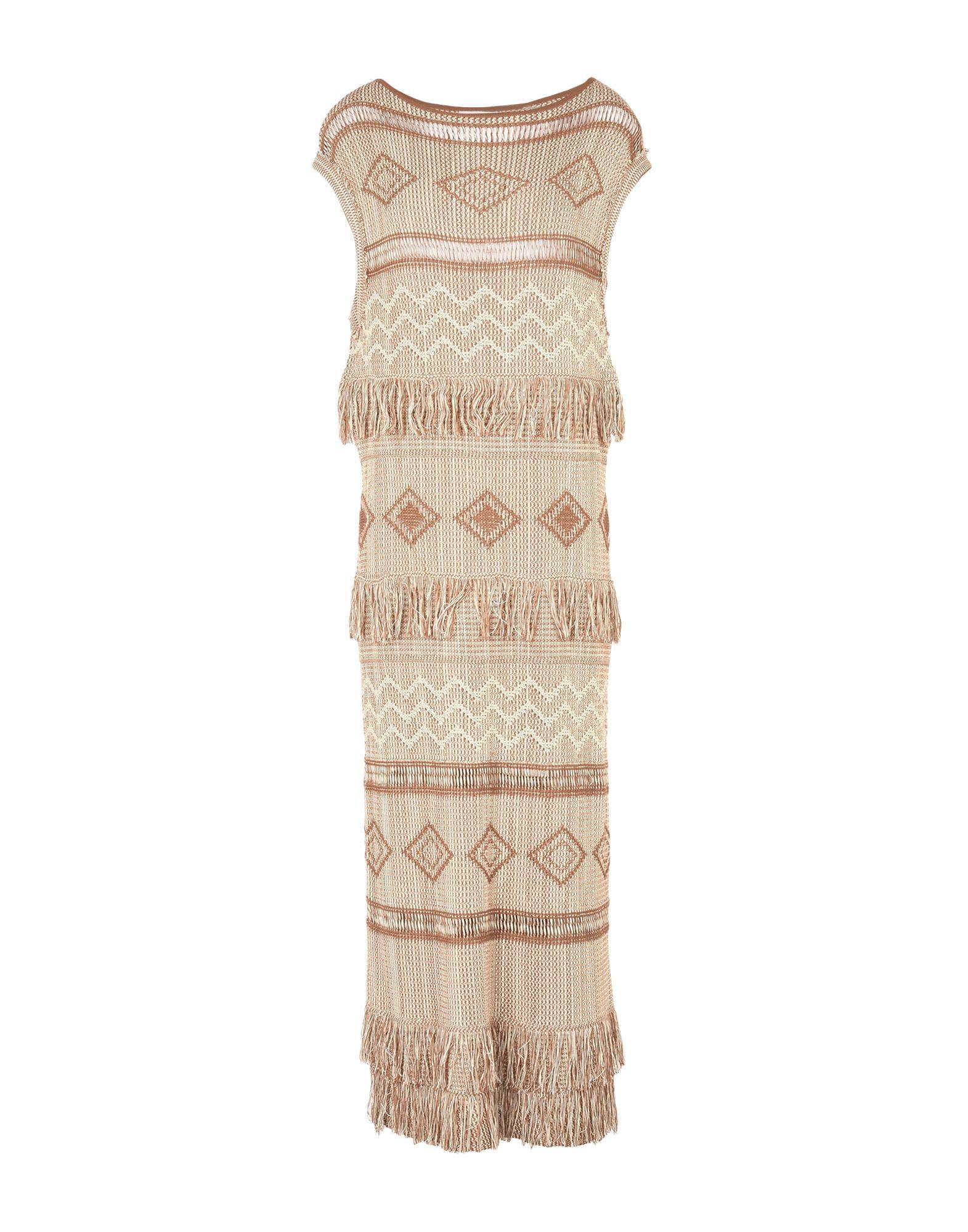 EKLE' Длинное платье вязаное платье