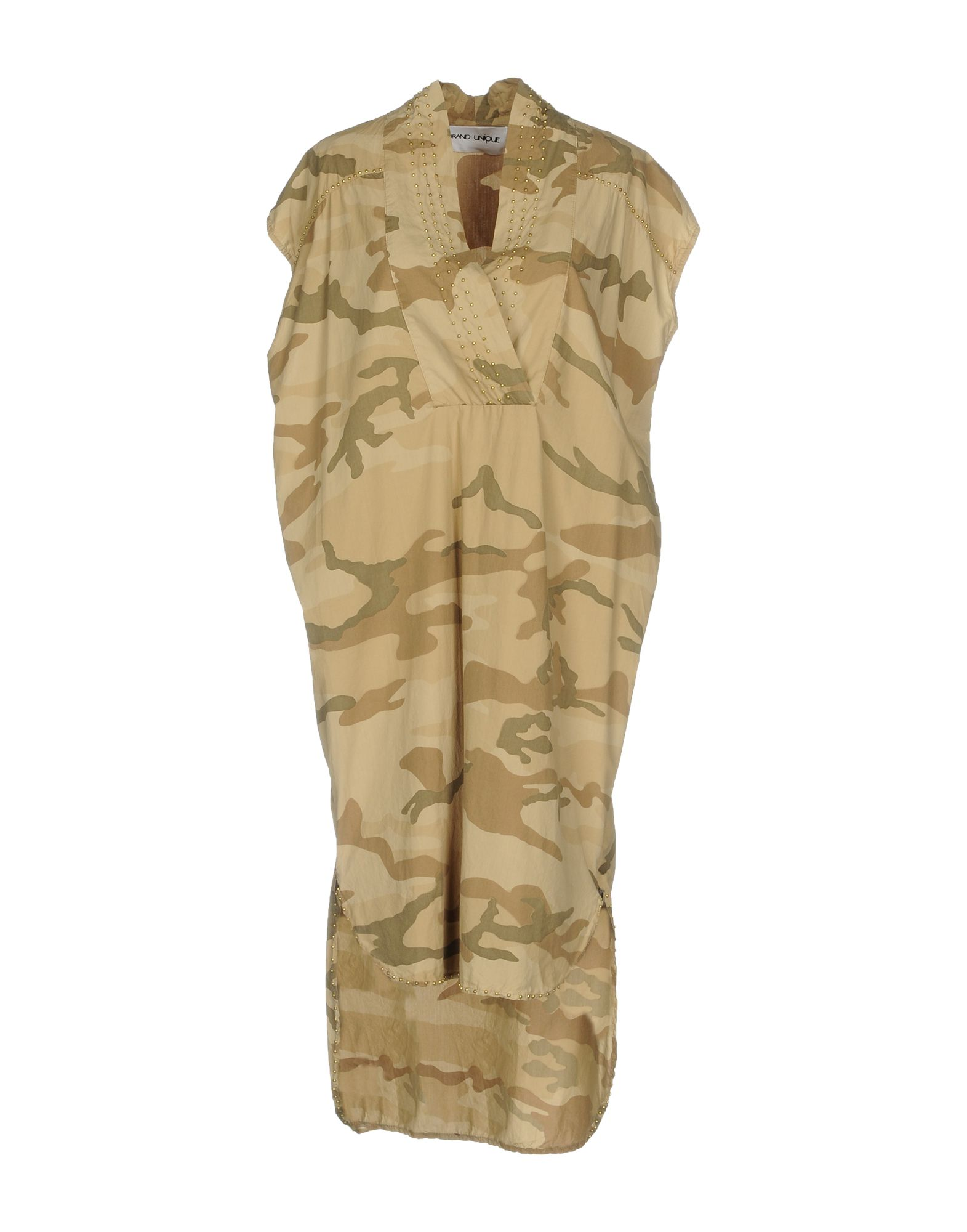 BRAND UNIQUE Платье до колена topshop unique платье до колена