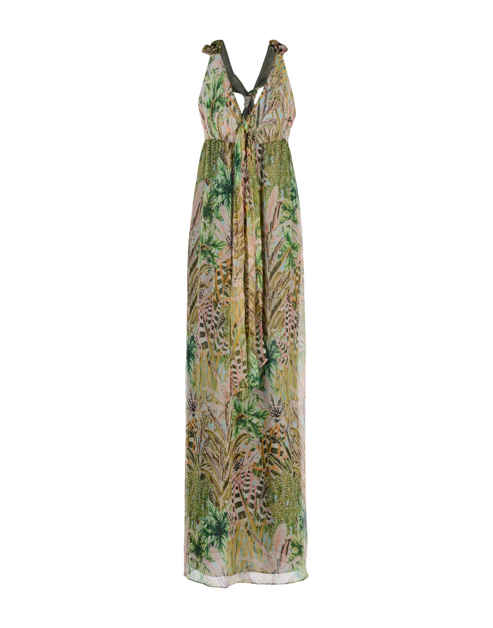 TARA JARMON Длинное платье цена 2017