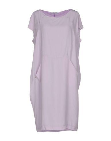Фото - Женское короткое платье OBLIQUE CREATIONS сиреневого цвета