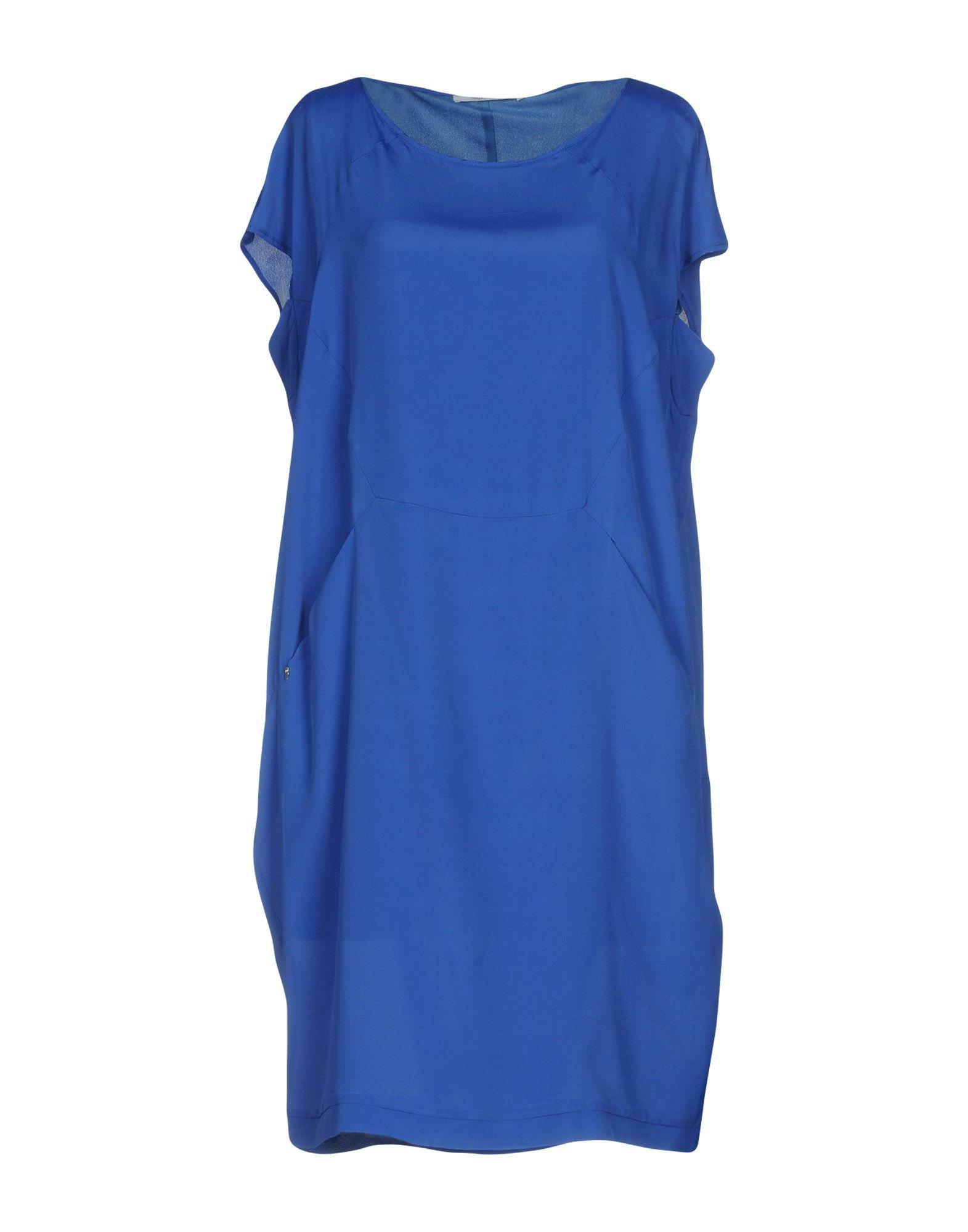 OBLIQUE CREATIONS Damen Kurzes Kleid Farbe Königsblau Größe 9