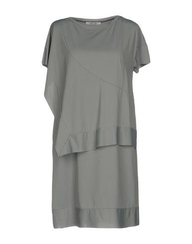 Фото - Женское короткое платье OBLIQUE CREATIONS серого цвета