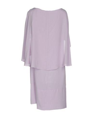 Фото 2 - Женское короткое платье OBLIQUE CREATIONS сиреневого цвета