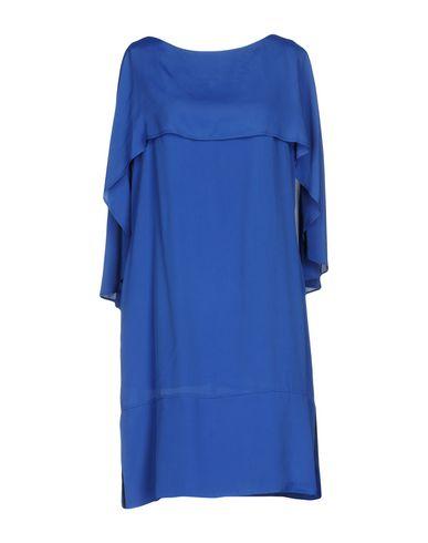 Фото - Женское короткое платье OBLIQUE CREATIONS ярко-синего цвета