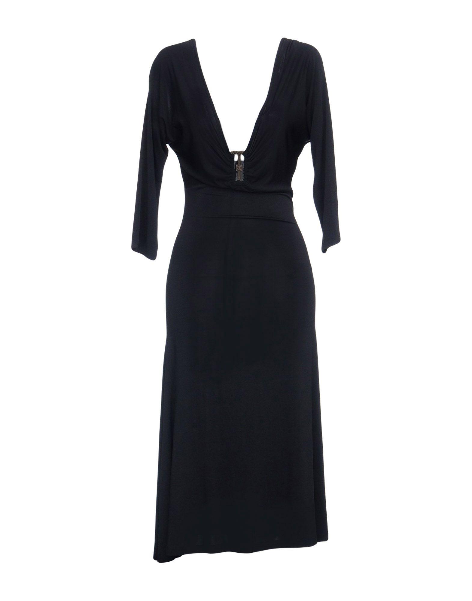 JUST CAVALLI Платье длиной 3/4 lisa corti платье длиной 3 4