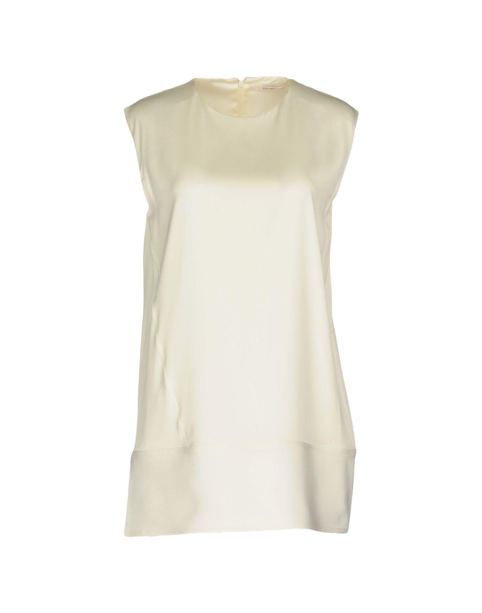 CÉLINE Короткое платье céline накидка