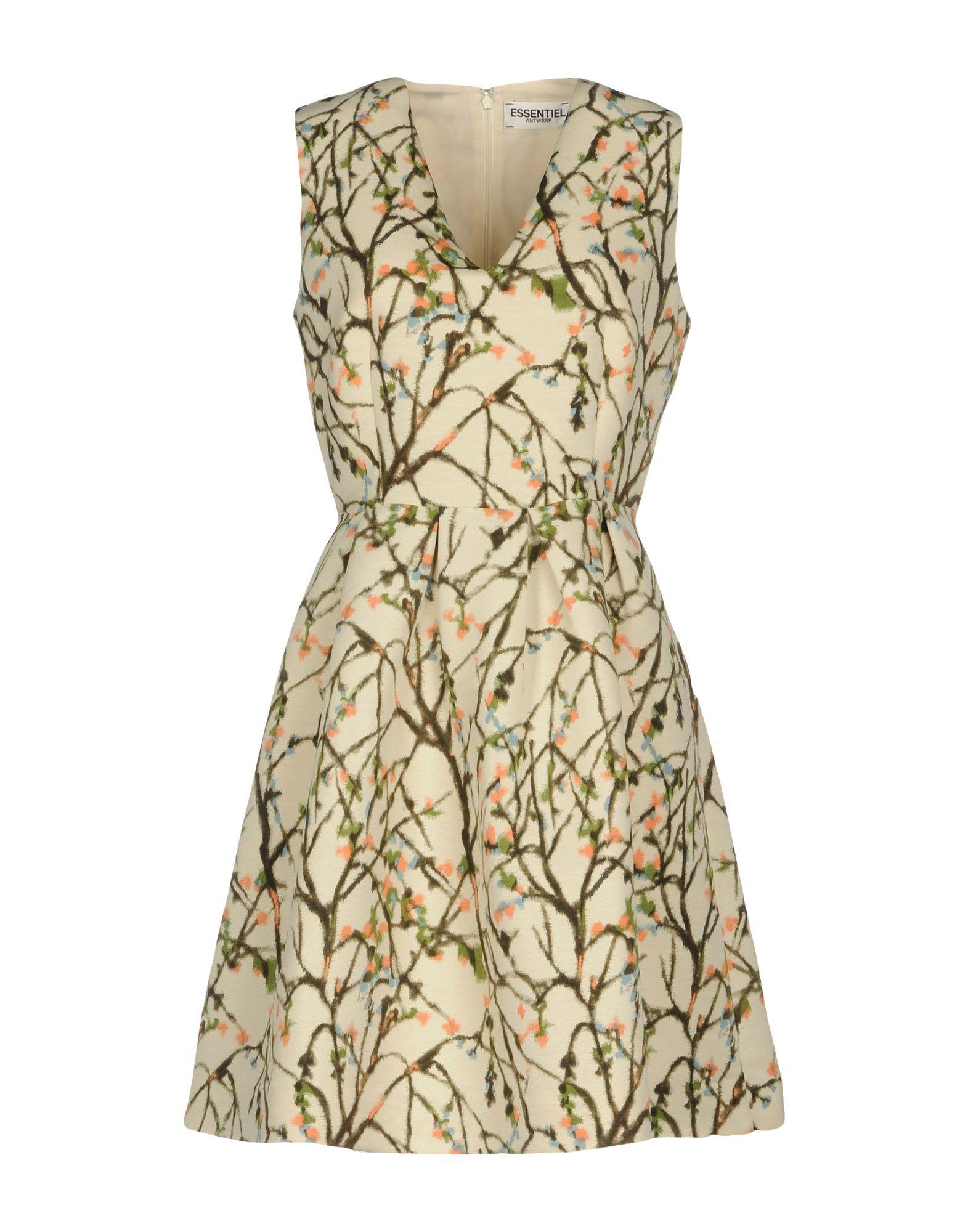цена ESSENTIEL ANTWERP Короткое платье онлайн в 2017 году