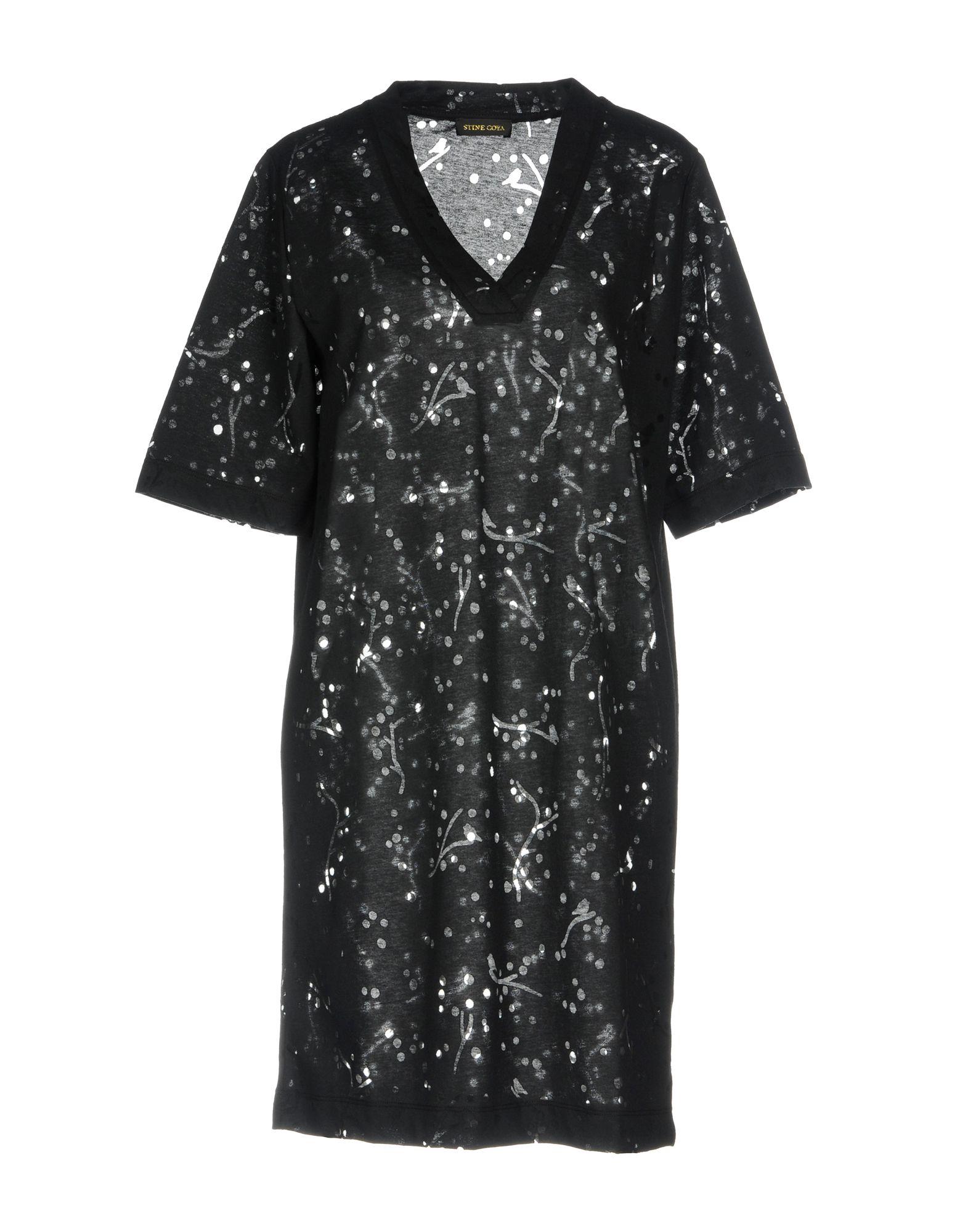 цена STINE GOYA Короткое платье онлайн в 2017 году