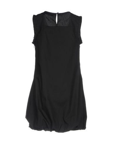 Фото 2 - Женское короткое платье ERMANNO DI ERMANNO SCERVINO черного цвета