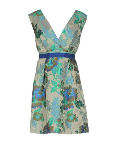 Фото - Женское короткое платье CHRISTIAN PELLIZZARI зеленого цвета