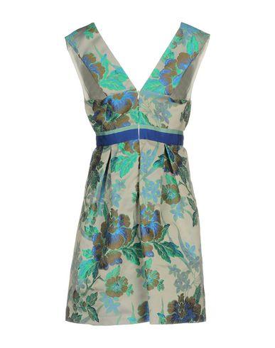 Фото 2 - Женское короткое платье CHRISTIAN PELLIZZARI зеленого цвета