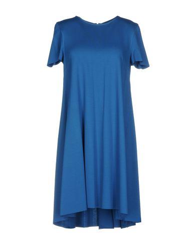 Купить Женское короткое платье HARRIS WHARF LONDON синего цвета