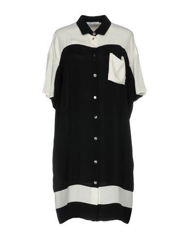 Фото - Женское короткое платье OBLIQUE CREATIONS черного цвета