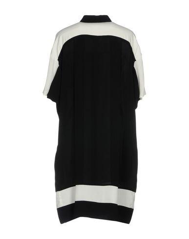 Фото 2 - Женское короткое платье OBLIQUE CREATIONS черного цвета