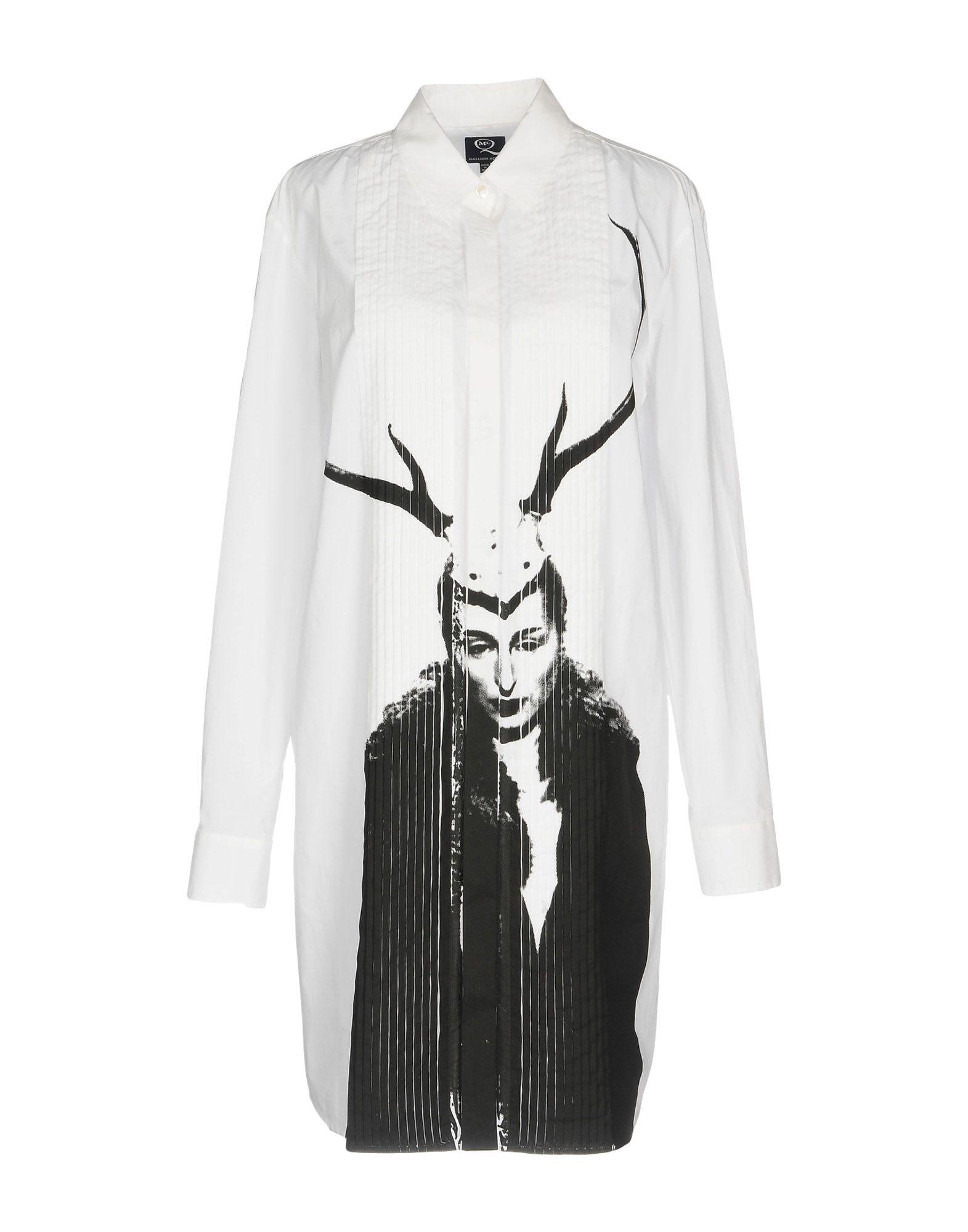 цена  McQ Alexander McQueen Короткое платье  онлайн в 2017 году