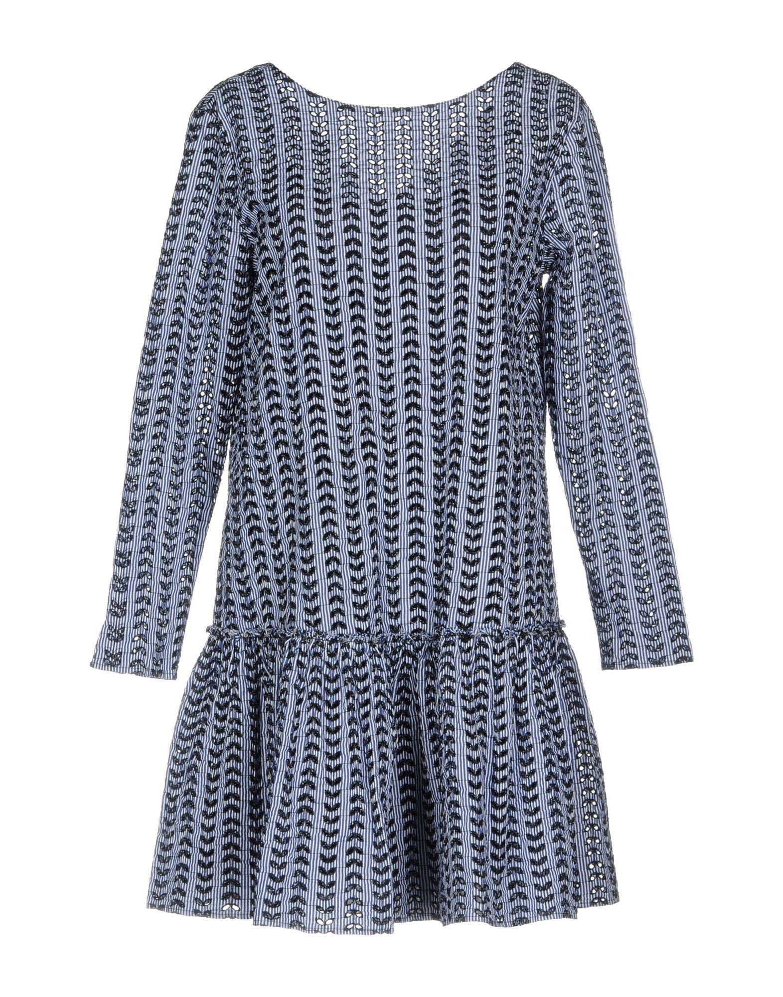 AGLINI Короткое платье anais gillian комбинация