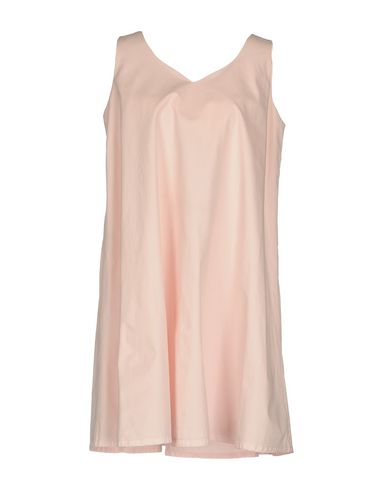 Купить Женское короткое платье  светло-розового цвета