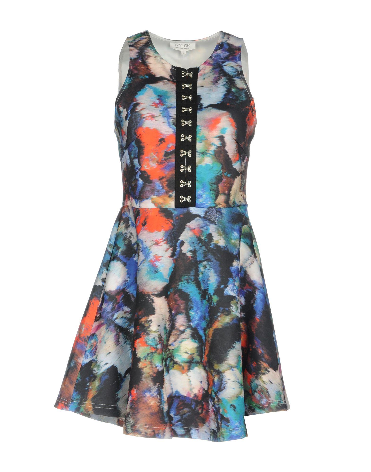 WYLDR Short Dress in Blue