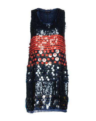 Фото - Женское короткое платье TWINSET темно-синего цвета