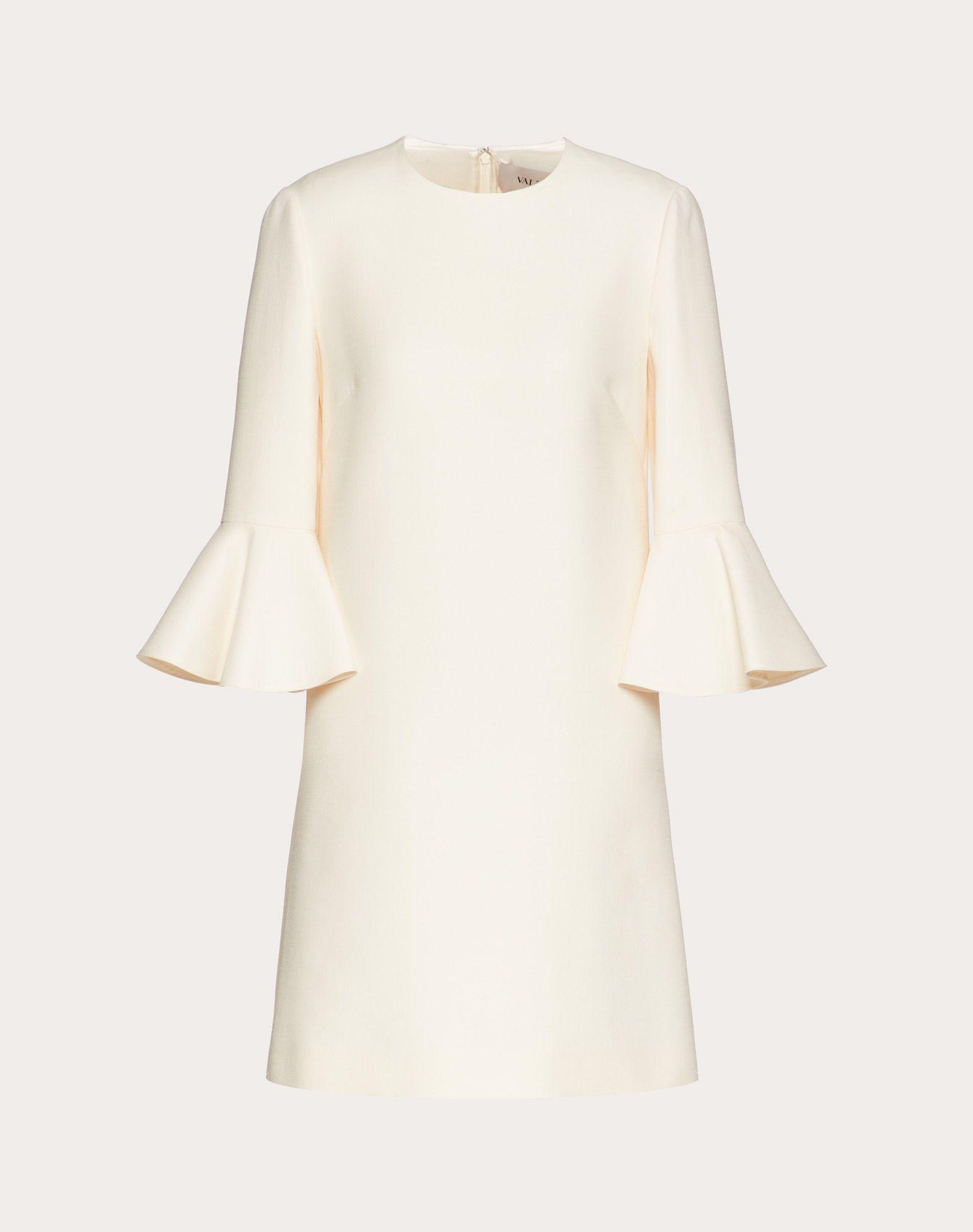 Couture 绉绸连衣裙