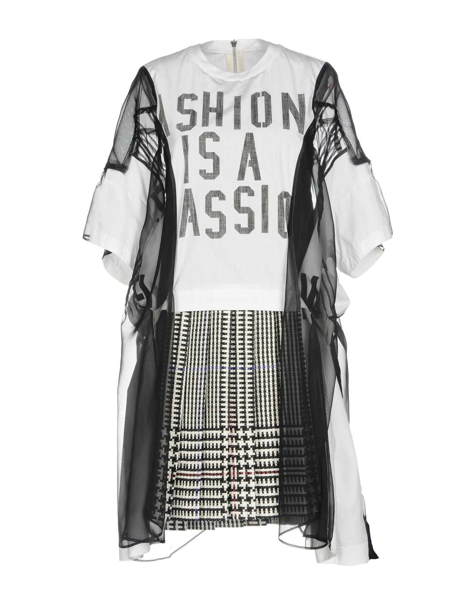 где купить SACAI Короткое платье по лучшей цене