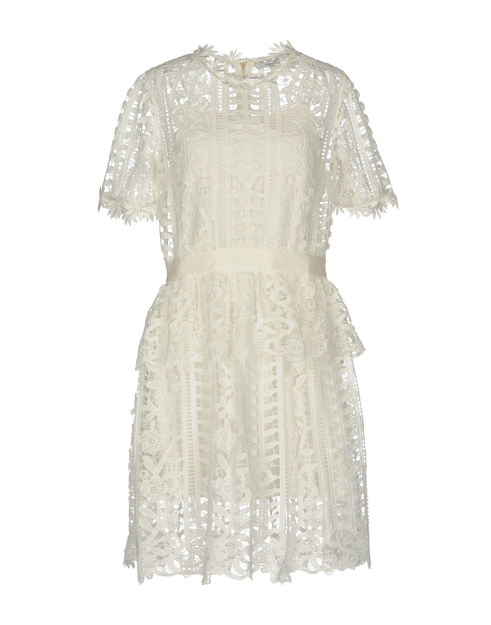 BLUGIRL BLUMARINE Короткое платье платье blugirl платья и сарафаны мини короткие