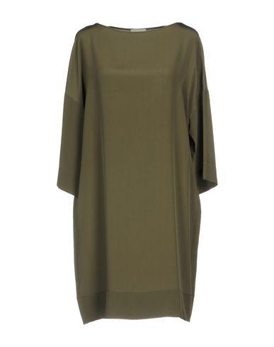 Фото - Женское короткое платье GOTHA цвет зеленый-милитари