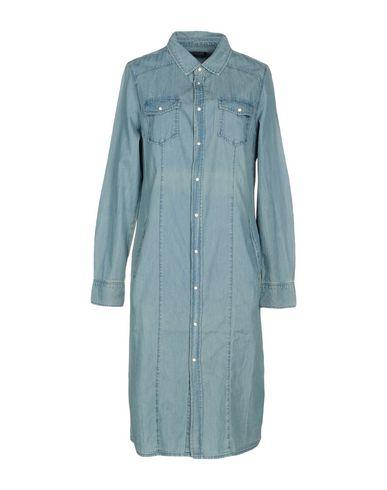 Фото - Женское короткое платье TWINSET синего цвета